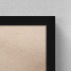 Cadre Bois Noir complet | 50x100